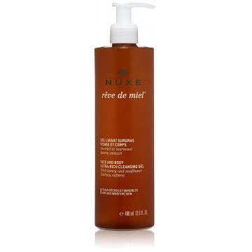 Nuxe Reve de Miel Face and Body Cleansing Gel, 400 ml